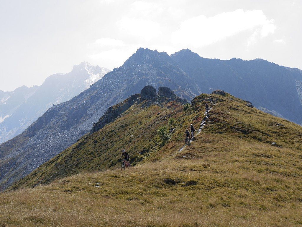 Spineology singletrack - mountain bike holiday in The Alps
