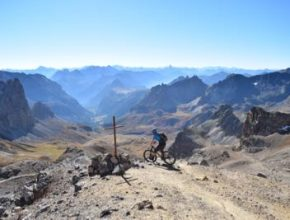 AlpPacker mountain bike traverse of the alps