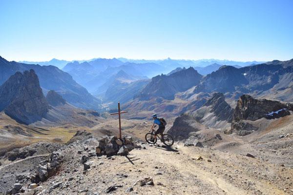 Briancon - Where is the best Alps mountain biking?